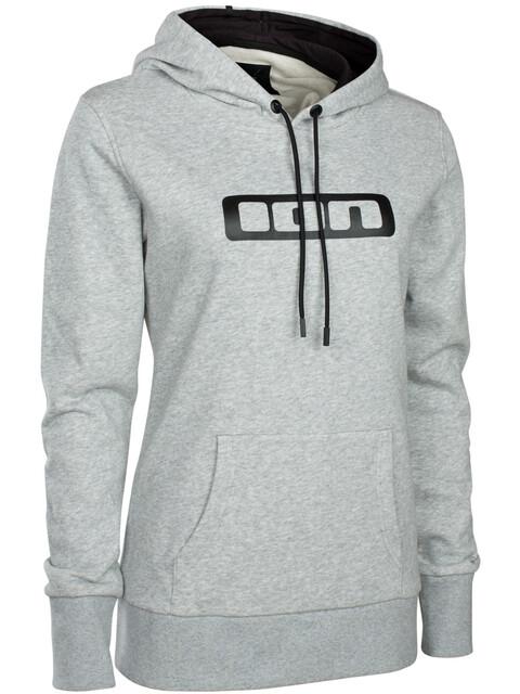ION Logo - Sweat à capuche Femme - gris